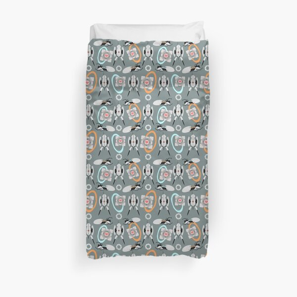 Portal out of here Duvet Cover