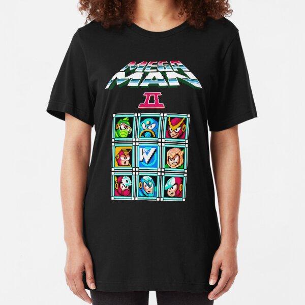 Megaman 2 Slim Fit T-Shirt