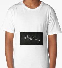 hashtags Long T-Shirt