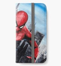 The Incredible Spider by LegacyArt86 iPhone Wallet/Case/Skin