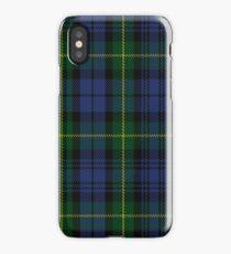 00034 Gordon Clan/Family Tartan iPhone Case/Skin