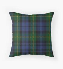 00034 Gordon Clan/Family Tartan Throw Pillow