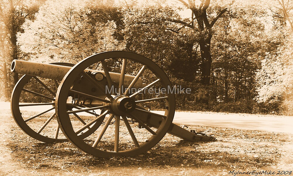 #611    Civil War Cannon by MyInnereyeMike