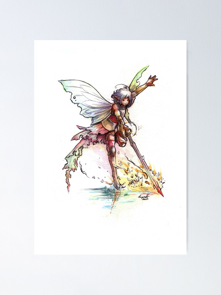 Alternate view of The Sword Fairy Poster