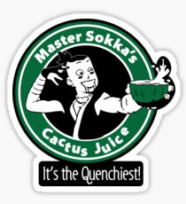 Master Sokka's Cactus Juice Sticker