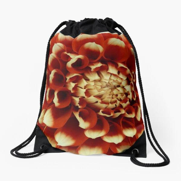 Dahlia #2 Drawstring Bag