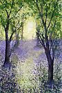 Bluebell Time (original painting sold) by Jacki Stokes