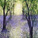 The Bluebell Path by Jacki Stokes
