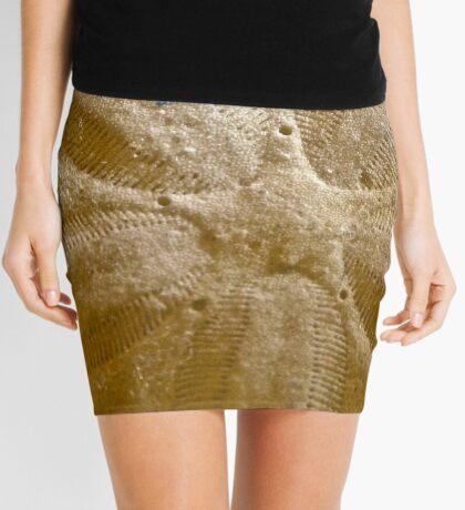 Star Pattern Mini Skirt