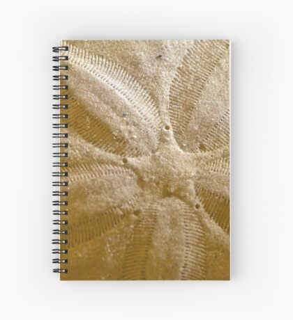 Star Pattern Spiral Notebook