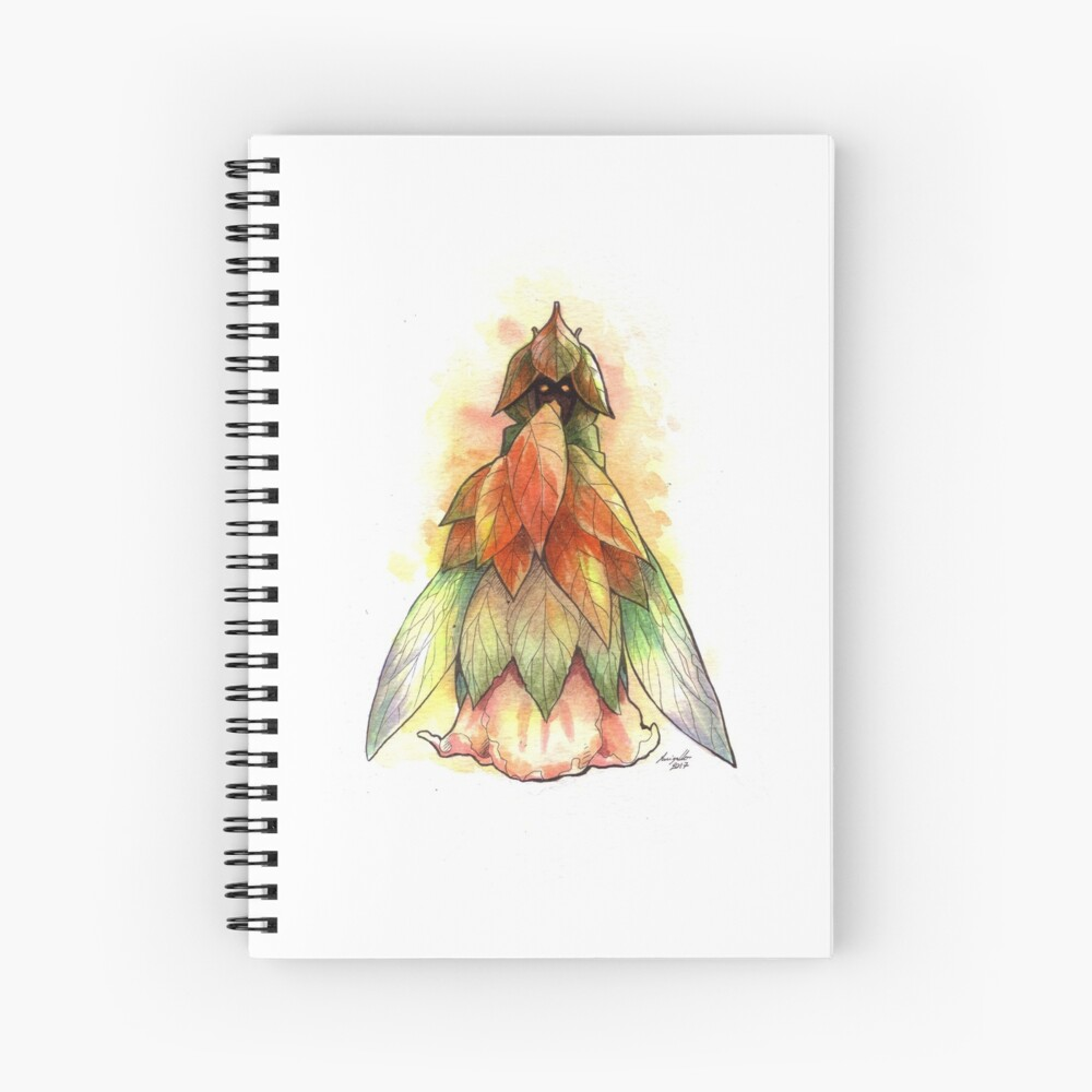 The Shy Fairy Spiral Notebook