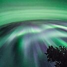 Aurora Curtain #2 by peaceofthenorth