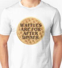 After Dinner Waffles Unisex T-Shirt