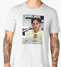 Bear, Beets    BattleStar Galactica Men's Premium T-Shirt