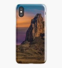 Sunset At Agathla Peak iPhone Case/Skin