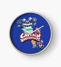 Captain Underpants Boss Fight Clock