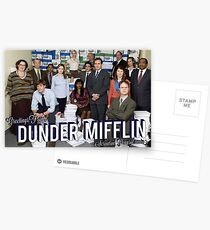 Greetings From Dunder Mifflin! Postcards