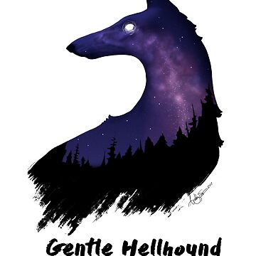 Gentle Hellhound  by CricketWings