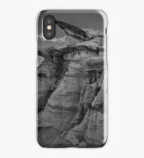 Bisti Badlands in Black and White iPhone Case/Skin