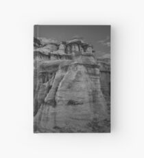Bisti Badlands in Black and White Hardcover Journal