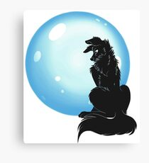 Slave to the moon Canvas Print