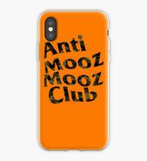 AntiMoozMoozClub iPhone Case