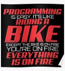 PROGRAMMING IS EASY Poster