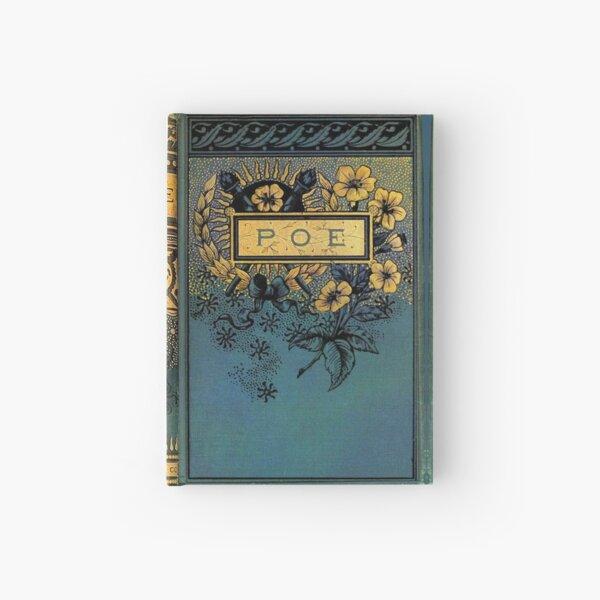 Edgar Allan Poe old Victorian book cover Hardcover Journal