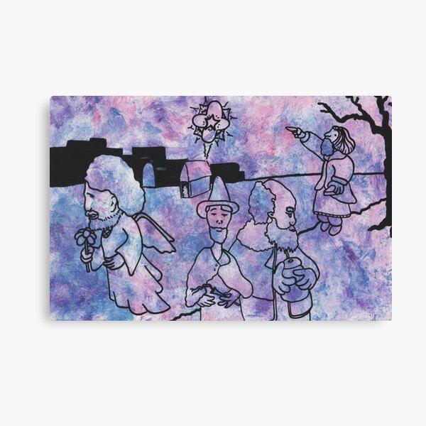 Star over Bethlehem by Laila Cichos Canvas Print