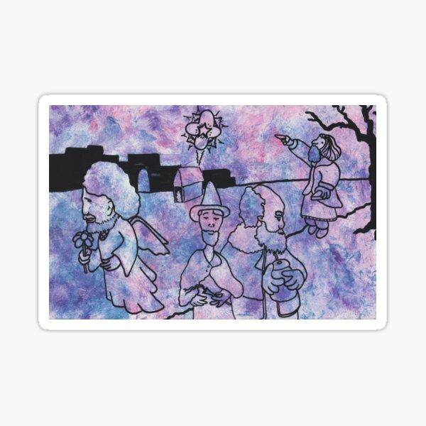Star over Bethlehem by Laila Cichos Sticker