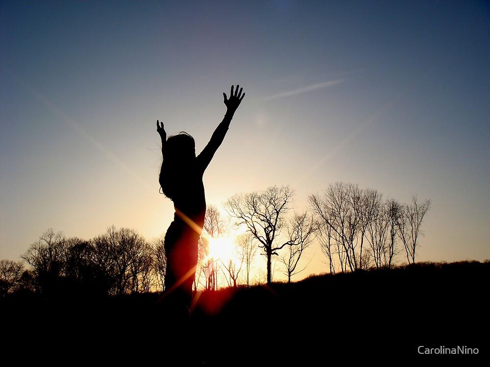 With Hands Held High by CarolinaNino