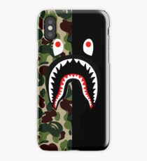 Bape shark black iPhone Case/Skin