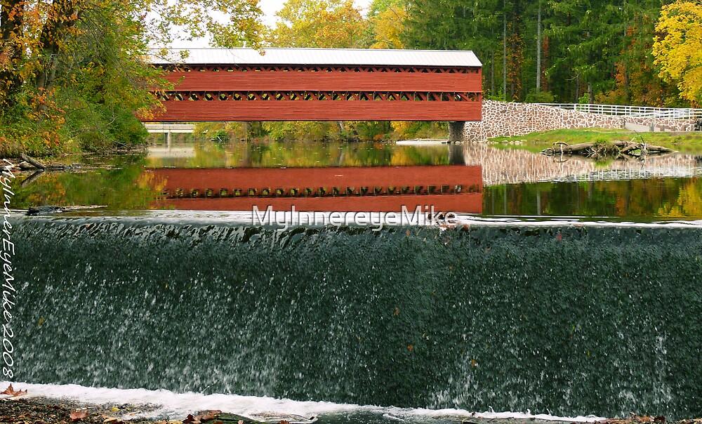 #612  Covered Bridge Of Gettysburg  #2 by MyInnereyeMike