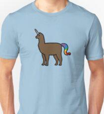 Alpakakorn (Alpaka Einhorn) Slim Fit T-Shirt