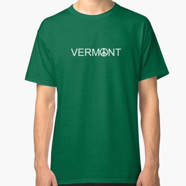 Vermont Peace Sign Shirt  Classic T-Shirt