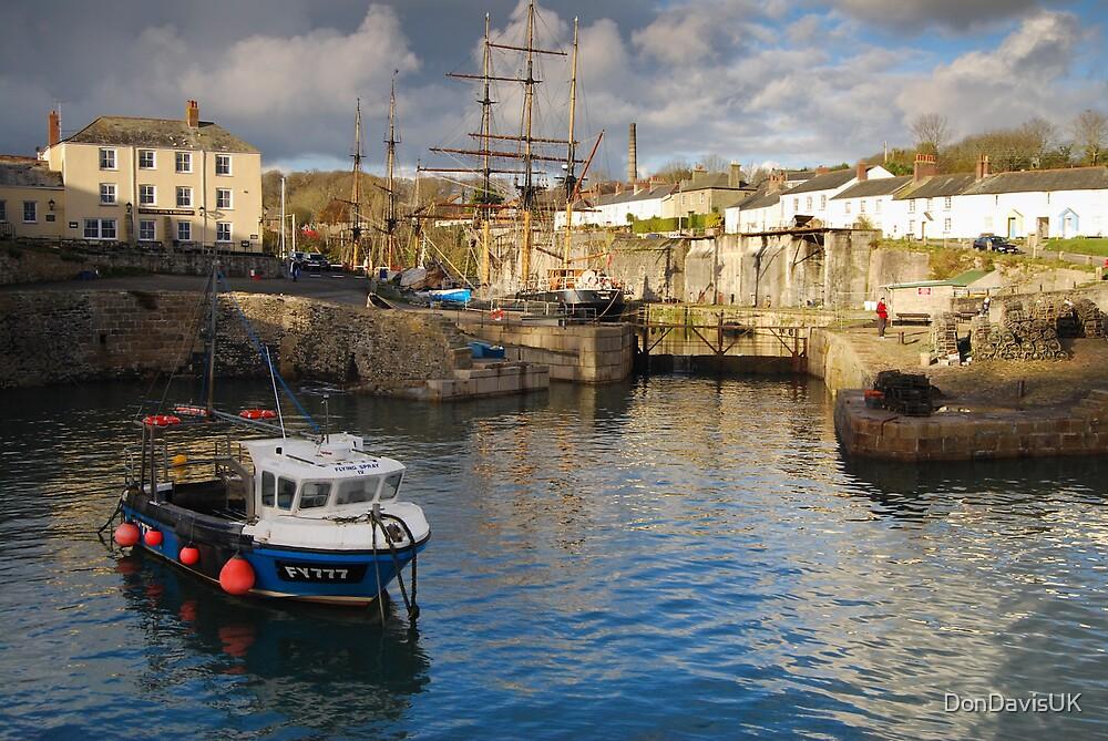 Charlestown Harbour Cornwall by DonDavisUK