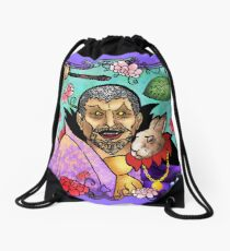 Uncle Sheo's Magic Show (Poor Haskill) Drawstring Bag