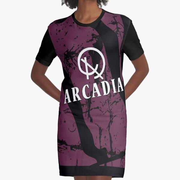 Arcadia Graphic T-Shirt Dress
