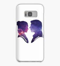 """I love you. I know."" Star Wars  Samsung Galaxy Case/Skin"
