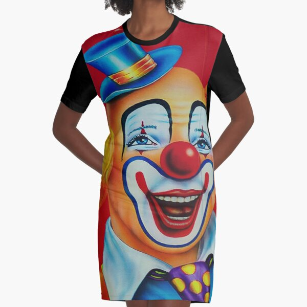 SEND IN THE CLOWNS-2 Graphic T-Shirt Dress