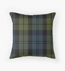 00014 Campbell Clan Tartan  Throw Pillow