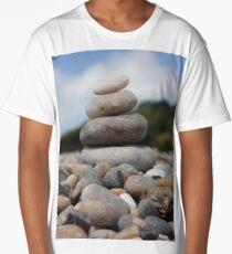 Pebble sculpture Long T-Shirt