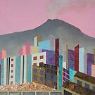 The City and the Volcano by nexus7