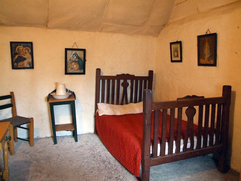 Old Irish bedroom by John Quinn