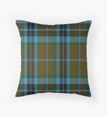 00007 Thompson-Thomson-MacTavish Hunting Tartan  Throw Pillow