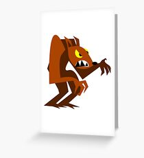 werewolf Greeting Card