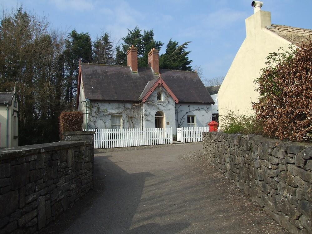 Bunratty village street by John Quinn