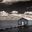 The Boat Shed by Peter Evans