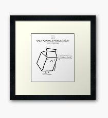 Mammal Juice Framed Print