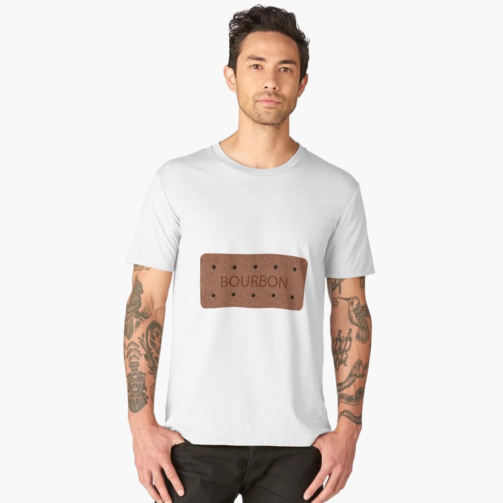 Bourbon Biscuit Men's Premium T-Shirt Front